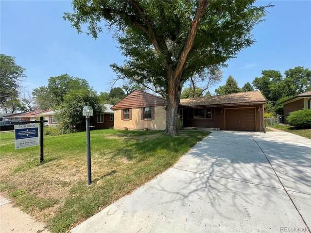 5611 E Bates Avenue, Denver, CO 80222 (#3312891) :: James Crocker Team