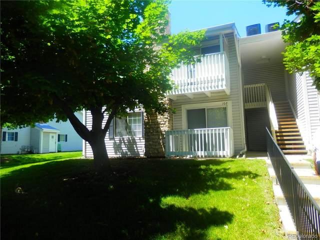 14423 E Jewell Avenue #102, Aurora, CO 80012 (#3313656) :: The HomeSmiths Team - Keller Williams