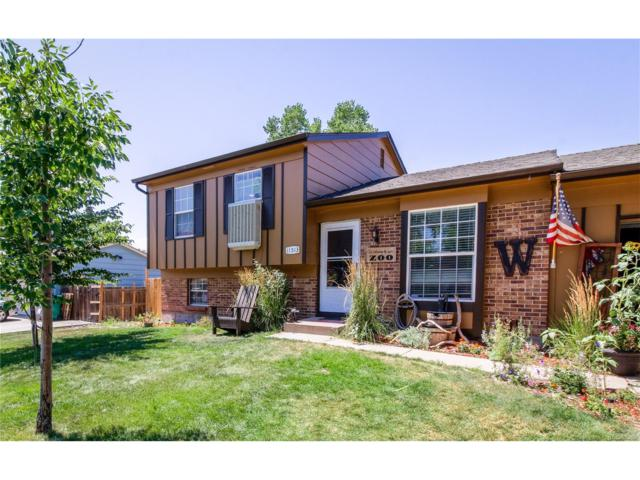 11513 Hot Springs Drive, Parker, CO 80138 (MLS #3313820) :: 8z Real Estate