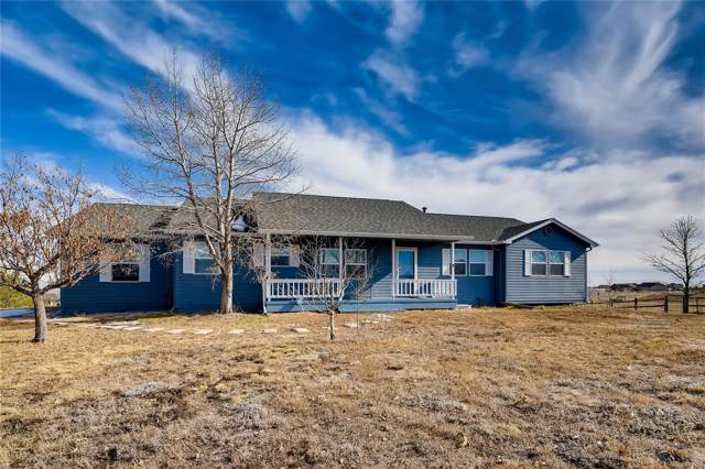 12455 Lonesome Pine Trail, Elbert, CO 80106 (#3314613) :: The Healey Group
