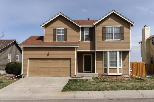 1347 Sunnyside Street, Highlands Ranch, CO 80126 (#3315821) :: The Peak Properties Group