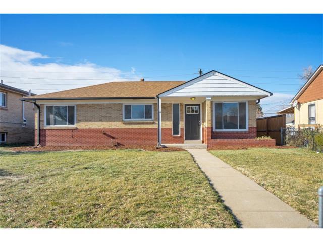 3525 Glencoe Street, Denver, CO 80207 (#3323200) :: Thrive Real Estate Group