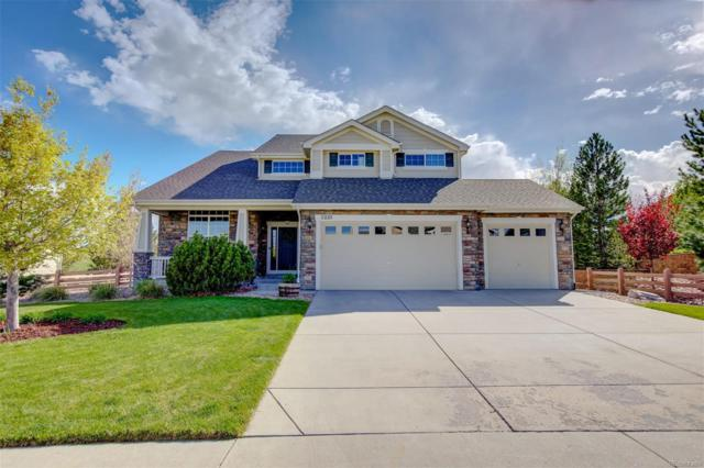 5225 Craftsman Drive, Parker, CO 80134 (#3324469) :: The Healey Group