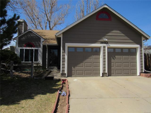 20927 Kelly Place, Denver, CO 80249 (#3329345) :: The Peak Properties Group