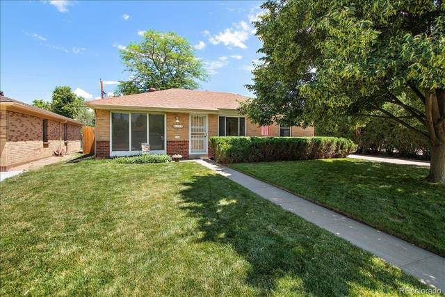 112 Newport Street, Denver, CO 80220 (#3330408) :: Peak Properties Group