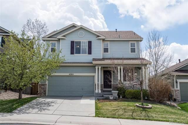 4305 Prairie Rose Circle, Castle Rock, CO 80109 (#3332307) :: Colorado Home Finder Realty