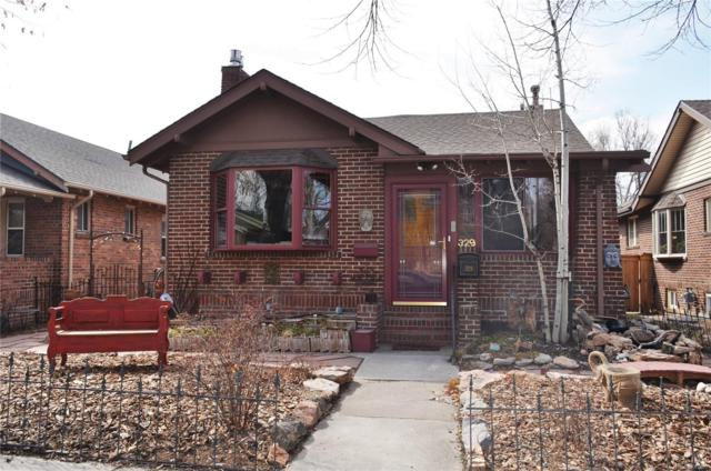 329 S Franklin Street, Denver, CO 80209 (#3336810) :: The Griffith Home Team