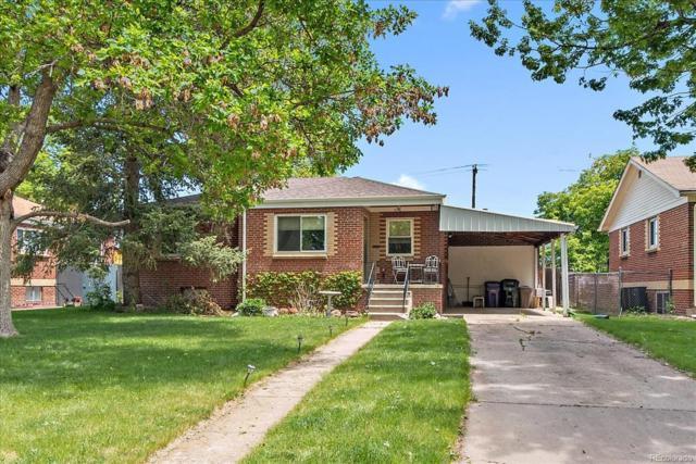 1156 Poplar Street, Denver, CO 80220 (#3338527) :: milehimodern