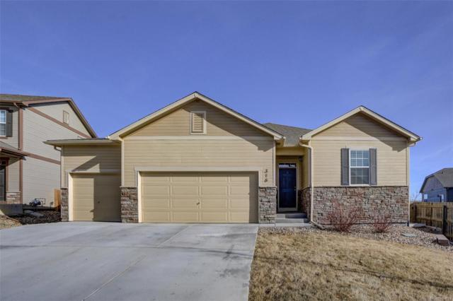 316 Mustang Avenue, Fort Lupton, CO 80621 (#3339296) :: The Griffith Home Team