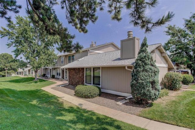 10371 E Evans Avenue #152, Aurora, CO 80247 (#3339516) :: The HomeSmiths Team - Keller Williams