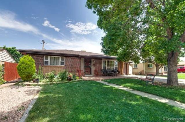 1334 S Benton Street, Lakewood, CO 80232 (#3340125) :: The HomeSmiths Team - Keller Williams
