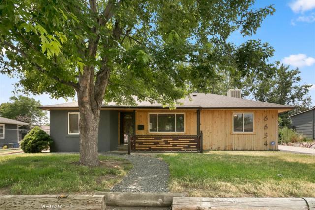 6634 W 45th Avenue, Wheat Ridge, CO 80033 (#3340500) :: Bring Home Denver