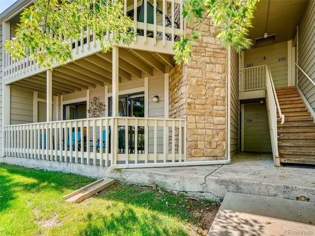 8225 Fairmount Drive 4-104, Denver, CO 80247 (#3341120) :: Compass Colorado Realty