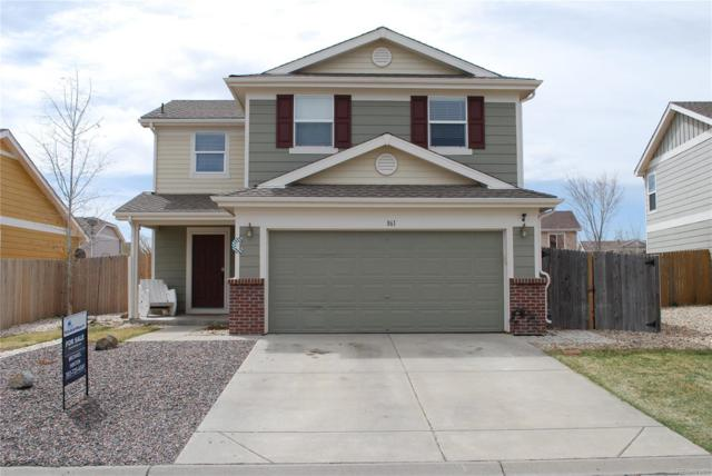 861 Stagecoach Drive, Lochbuie, CO 80603 (#3341440) :: The Peak Properties Group