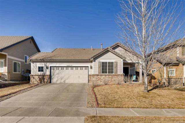 16717 E Hollow Horn Avenue, Parker, CO 80134 (#3341657) :: The Griffith Home Team
