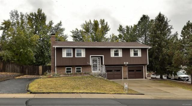 212 Elm Avenue, Castle Rock, CO 80104 (#3342828) :: The Galo Garrido Group