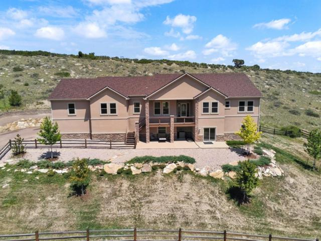 5235 Country Club Drive, Larkspur, CO 80118 (#3343691) :: The HomeSmiths Team - Keller Williams