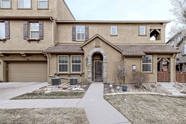 10576 Parkington Lane 34A, Highlands Ranch, CO 80126 (MLS #3345254) :: 8z Real Estate