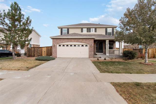 4816 S Elk Way, Aurora, CO 80016 (#3347085) :: The Peak Properties Group