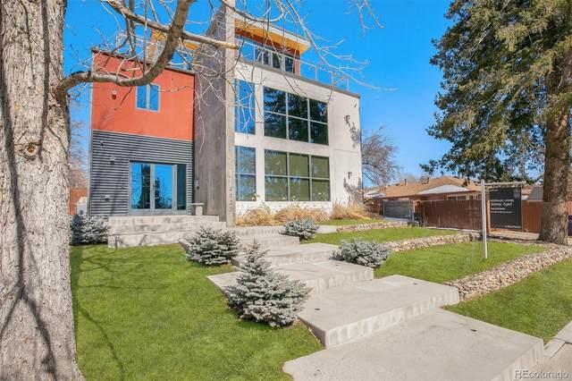4925 W 28th Avenue, Denver, CO 80212 (#3349345) :: iHomes Colorado