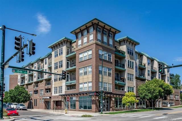 1441 Central Street #513, Denver, CO 80211 (#3358014) :: The Dixon Group