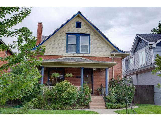 515 S Grant Street, Denver, CO 80209 (#3358028) :: The Pete Cook Home Group