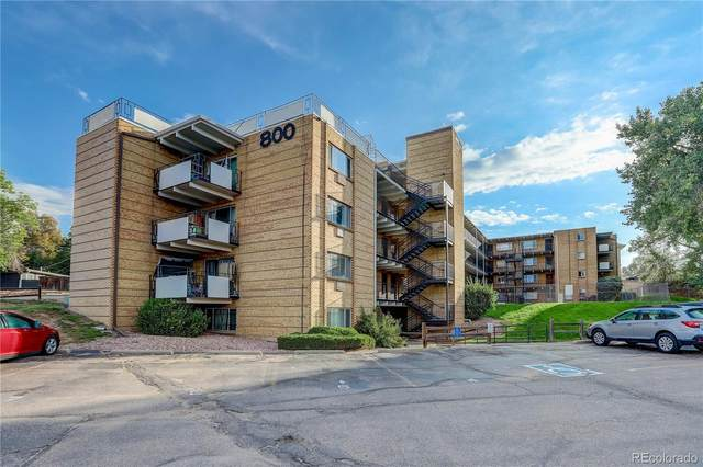 800 W Belleview Avenue #209, Englewood, CO 80110 (#3360138) :: The Griffith Home Team