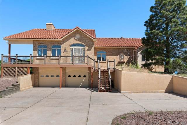 14550 River Oaks Drive, Colorado Springs, CO 80921 (#3361434) :: The Harling Team @ Homesmart Realty Group