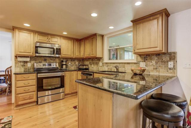 3165 S Akron Street, Denver, CO 80231 (#3364557) :: The Griffith Home Team