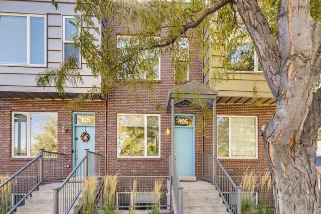 4400 W 46th Avenue #106, Denver, CO 80212 (#3368898) :: Harling Real Estate