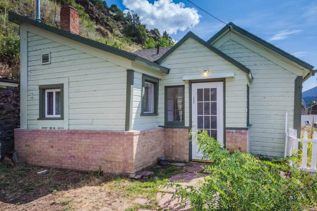 1606 Wall Street, Idaho Springs, CO 80452 (MLS #3369246) :: 8z Real Estate