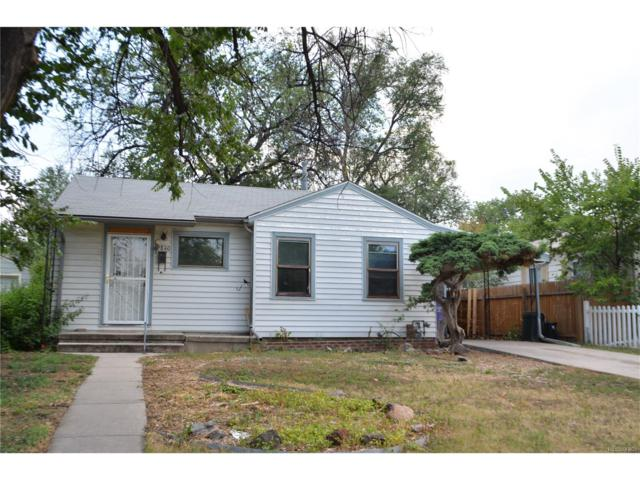 2840 W Irvington Place, Denver, CO 80219 (MLS #3370807) :: 8z Real Estate