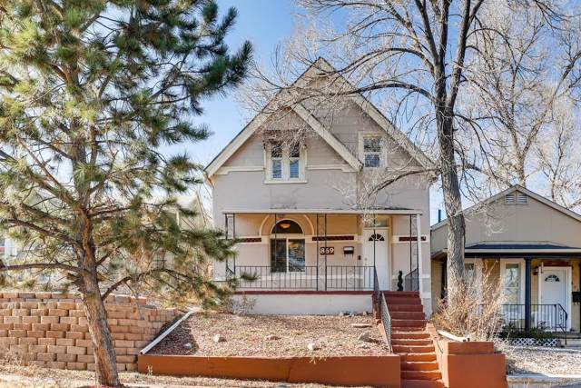 869 Knox Court, Denver, CO 80204 (MLS #3372005) :: Neuhaus Real Estate, Inc.