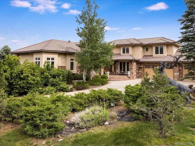 13110 Whisper Canyon Road, Castle Pines, CO 80108 (#3372402) :: The Gilbert Group