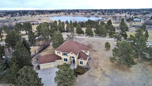 5732 Saddle Creek Trail, Parker, CO 80134 (#3376897) :: The Peak Properties Group