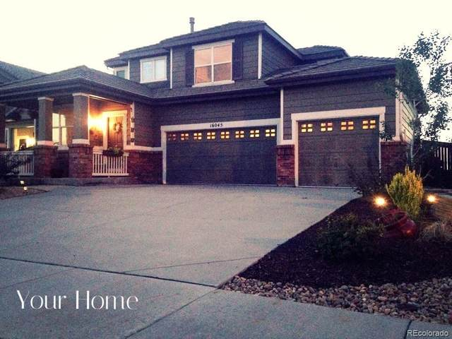 16045 E 107th Place, Commerce City, CO 80022 (#3378078) :: The Griffith Home Team