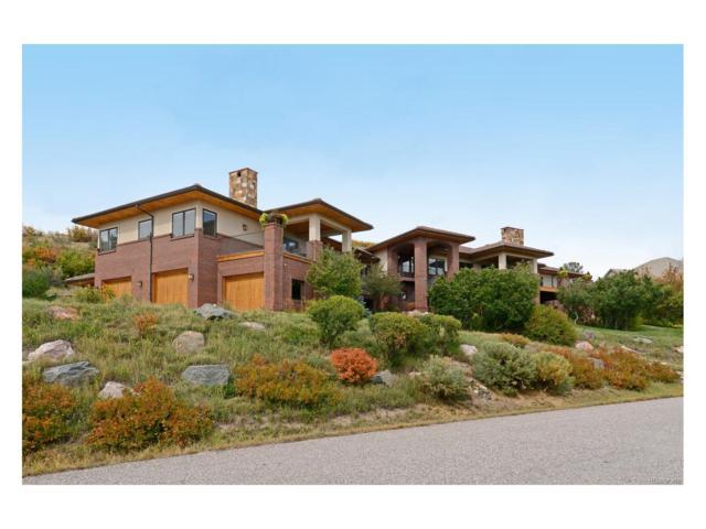 714 Golf Club Drive, Castle Rock, CO 80108 (#3379482) :: RE/MAX Professionals