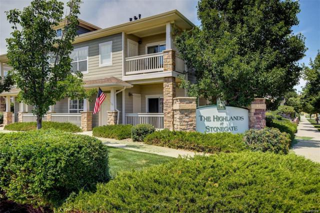 9511 Pearl Circle #104, Parker, CO 80134 (#3386895) :: HomePopper