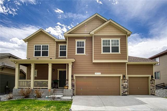 20752 Park Hollow Drive, Parker, CO 80138 (#3391367) :: The HomeSmiths Team - Keller Williams