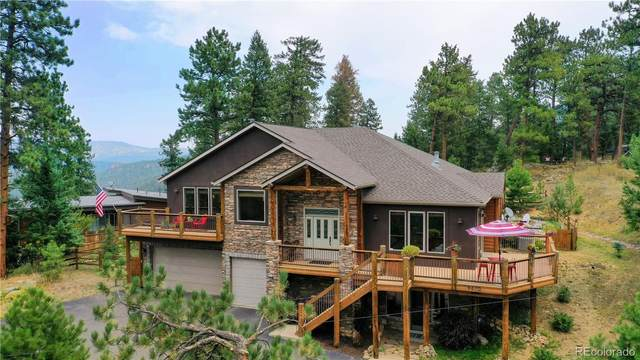 4670 Forest Hill Road, Evergreen, CO 80439 (#3391407) :: The Gilbert Group