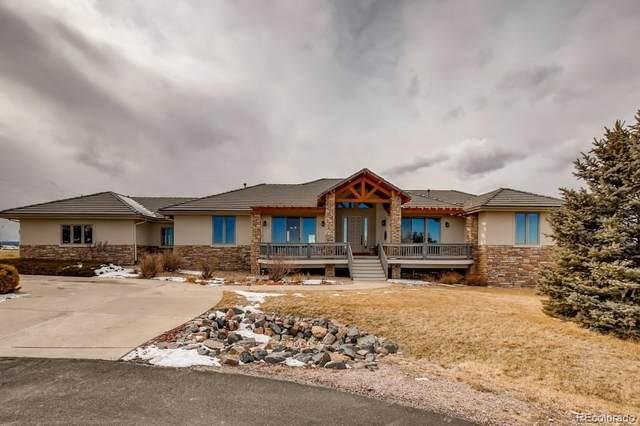1283 Ridge Oaks Drive, Castle Rock, CO 80104 (#3391590) :: The Scott Futa Home Team