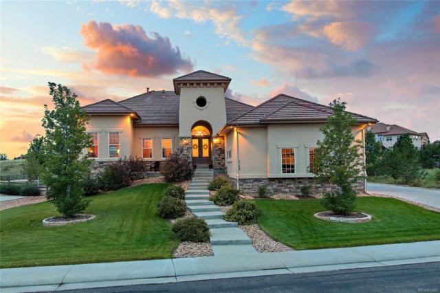 5749 Vistancia Drive, Parker, CO 80134 (#3391842) :: The Peak Properties Group