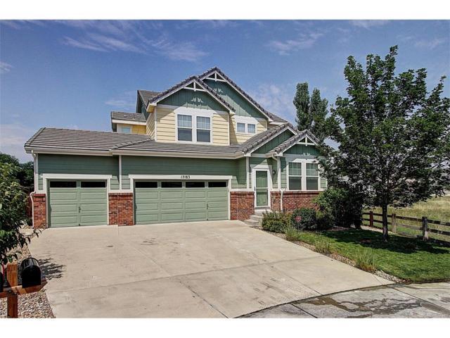 17183 Knollside Avenue, Parker, CO 80134 (MLS #3394312) :: 8z Real Estate