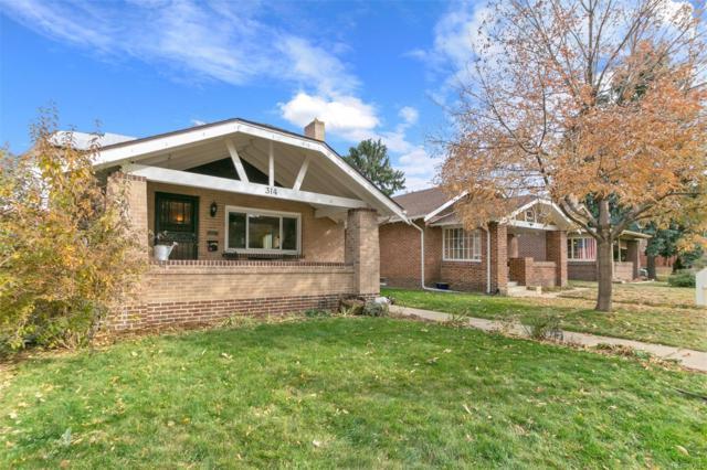 314 N Grant Street, Denver, CO 80203 (#3399113) :: My Home Team