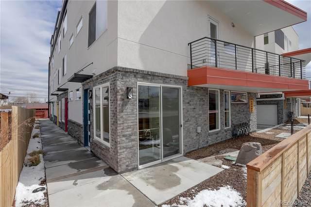 1340 Sheridan Boulevard #102, Denver, CO 80214 (#3402577) :: Wisdom Real Estate