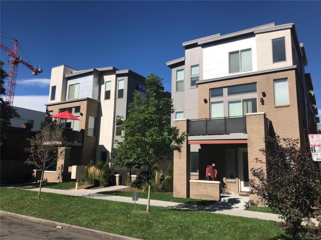 2331 Glenarm Place #4, Denver, CO 80205 (#3404229) :: Thrive Real Estate Group