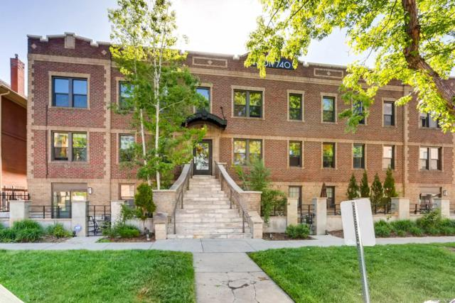 740 N Sherman Street #108, Denver, CO 80203 (#3405374) :: The Griffith Home Team