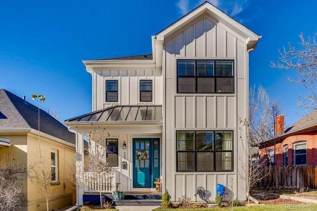 249 S Franklin Street, Denver, CO 80209 (MLS #3405406) :: The Sam Biller Home Team