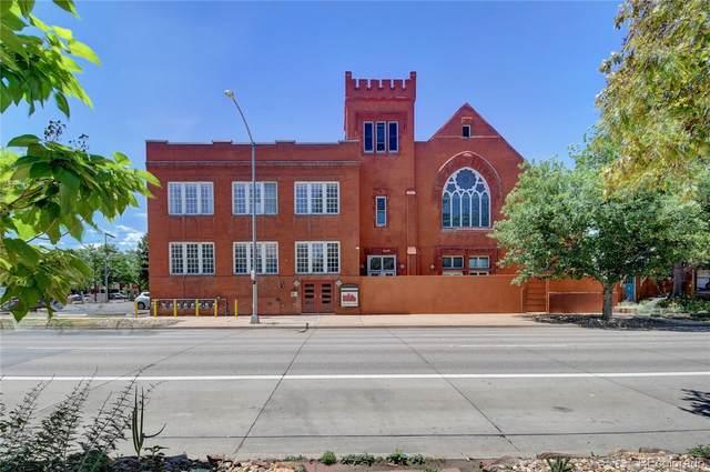 225 N Lincoln Street #1, Denver, CO 80203 (#3406137) :: milehimodern