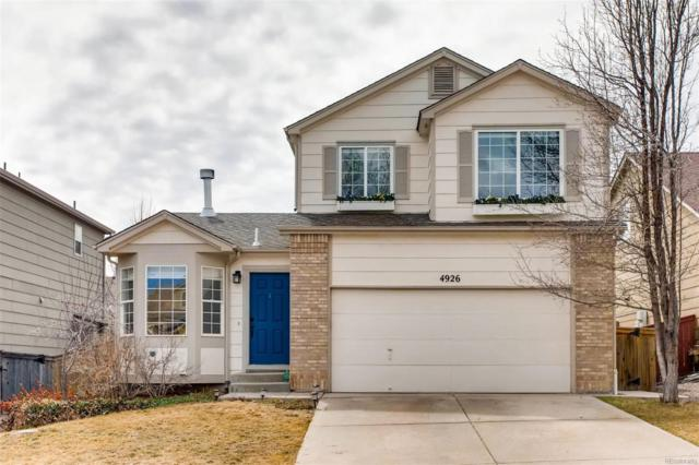4926 Kingston Avenue, Highlands Ranch, CO 80130 (#3406164) :: The DeGrood Team